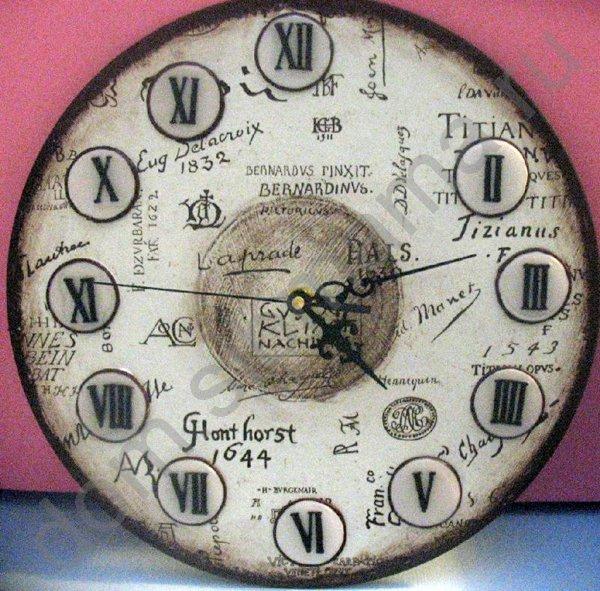 Часы своими руками фото из фотографий